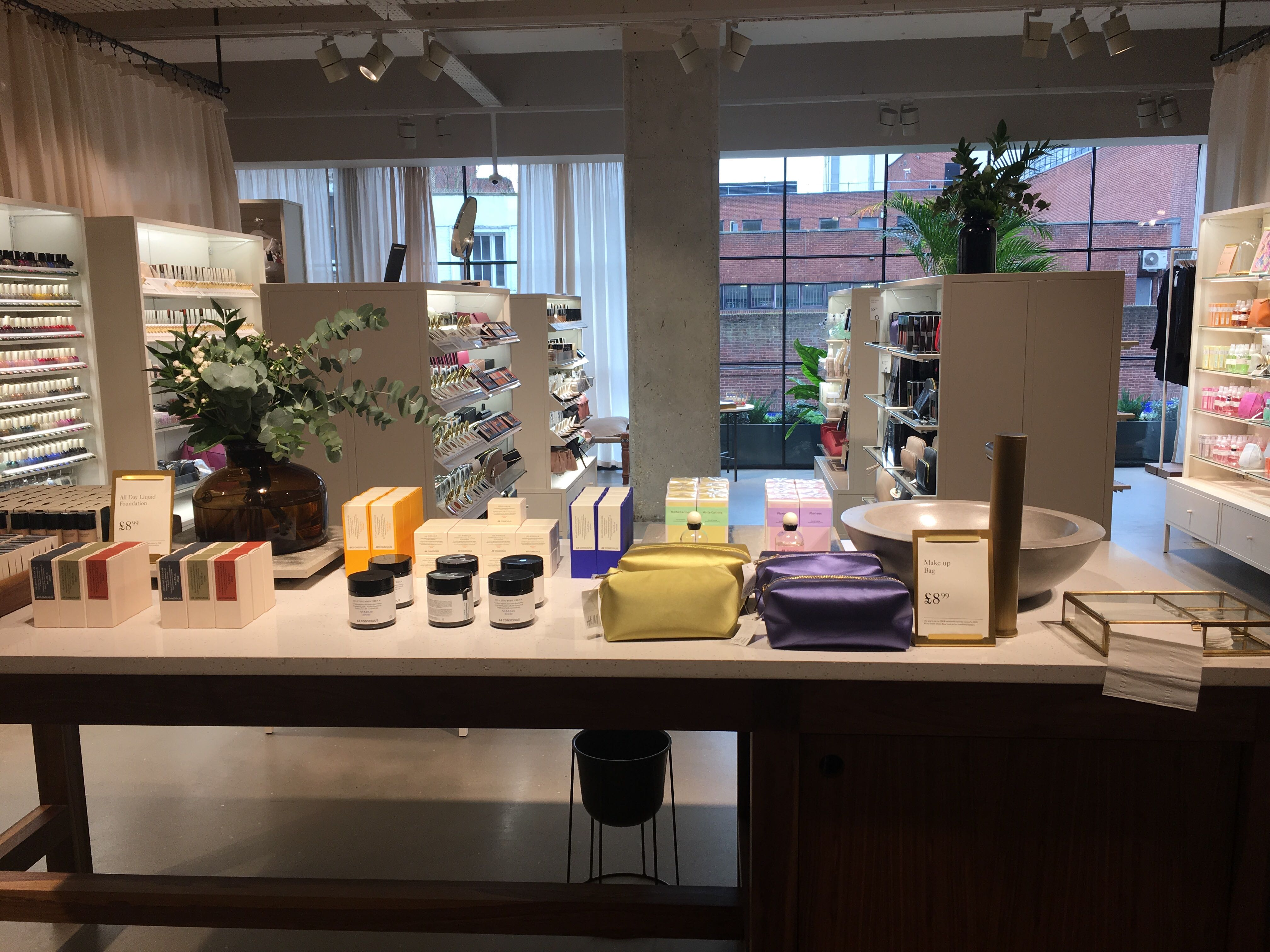 H&M Hammersmith Concept Store - Cosmetics