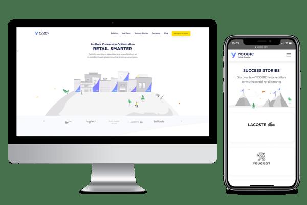 YOOBIC's New Website