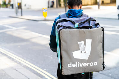 Deliveroo contactless delivery coronavirus
